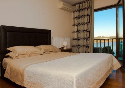 Malamo 2nd bedroom with sea views