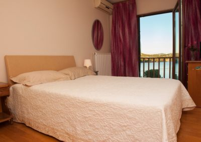 Malamo 3rd bedroom with sea views