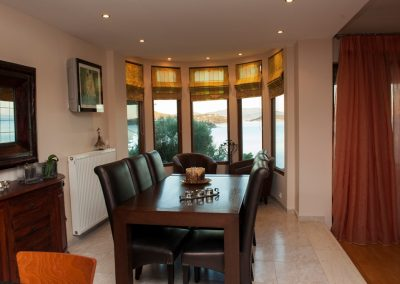 malamo dining room with sea views